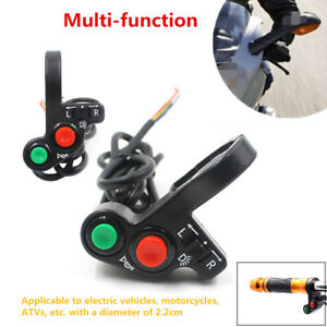 Motorcycle Electrical Car Handlebar ON OFF Switch for Horn Headlight Turn Signal