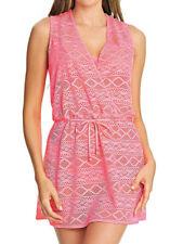 9b96c9506fbf3 Freya Sundance Crossover Dress 3978 Summer Beach Cover up - Flamingo