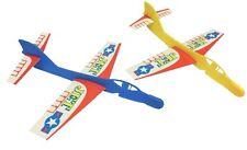 20 X plástico de avión planeadores (Bolsa Fiesta Relleno/Fiesta Favores/Juegos)