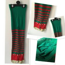 Mothercare New Girls Christmas Elf Theme Tights 5-6 Years