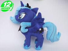 12'' My Little Pony Princess Luna Plush Anime Stuffed Toy Game Doll POPL8005