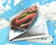 DYNOMIGHTY MIGHTY WALLET SUPERMAN BILLFOLD DURABLE SUPER THIN TYVEK BF-012