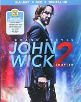 John Wick Chapter 2 Blu-ray+DVD+ Digital HD