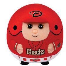 Ty Mlb Beanie Baby Ballz - Arizona Diamondbacks (5 inch) - Mwmts Ball Toy