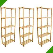 3er Set Shelf 66 7/8inx25 5/8inx11in Wood for Folder Files Books Soes Archiv 8