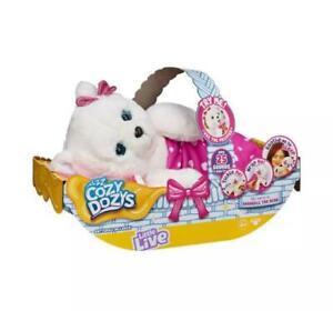 Little Live Pets Cozy Dozy Snowbelle the Bear Interactive Stuffed Animal