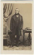 Photo Disdéri Carte de Visite Albuminé Groupe Famile Vers 1860
