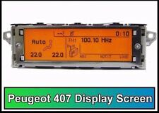 Peugeot 407 display screen RD4 New