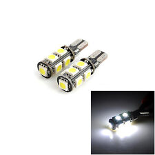 2 X Canbus Error Free White T10 9-SMD 5050 Car Clearance LED Light bulbs Lamp