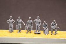 1//72 Resin German Soldiers Signal Corps 6 Kit Unassembled Unpainted 72040