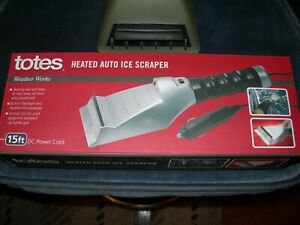 Totes Heated Auto Ice Scrapper - Another Type Included Too