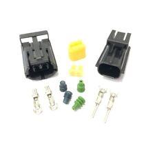 Econoseal 2 vías cableado del conector Impermeable Kit Con Sellos & Terminales 12v 24v