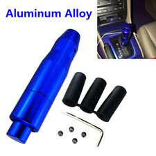 Automatic Auto AT Car Gear Stick Shift Knob Shifter Lever Cover Button+3 Adapter