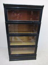 Antique Oak 4 Height Stacking Bookcase Manner Globe Wernicke