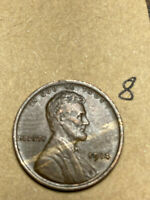 1914 LINCOLN WHEAT CENT, HIGH QUALITY CONDITION (AU), #8