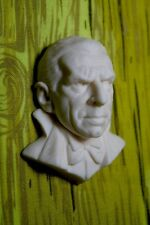 Bela Lugosi Count Dracula Resin Cabochon Relief Sculpt for Jewelry Crafts Goth
