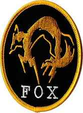 METAL GEAR SOLID FOX PATCH IRON ON by ZanzibarLand
