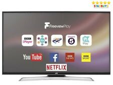 "JVC LT-40C880 Smart TV 40"" Inch 4K LED Ultra HD HDR HDMI TV Freeview"
