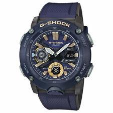 New Casio G-Shock Carbon Core Guard World Time Watch GA-2000-2A