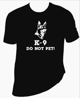 K9 Do Not Pet Dog unisex T-Shirt 100% Cotton Premium Tee S,M,L,XL