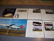 HISTORY..AIRLINE: PHILIPPINE AIRLINES & D.H.84..HISTORY/PHOTOS..RARE! (548Q)