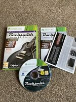 "Rocksmith 2014 Edition Xbox 360 Video Game ""FREE UK  P&P"" Guitar Hero Kinect"