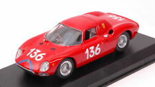 Ferrari 250 Lm #136 14th Targa Florio 1965 A. Nicodemi / F. Lessona 1:43 Model