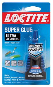 Loctite  Ultra Gel Control  High Strength  Gel  Super Glue  4 gm