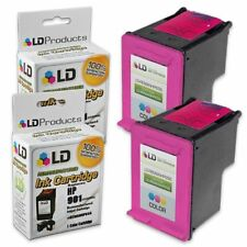 LD © Reman Replacement Ink Cartridges for HP CC656AN (HP 901) Tri-Color 2pk