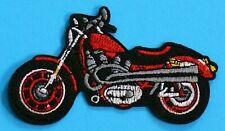 Patch Aufnäher Aufbügler Motorrad Biker Kutte Chopper Aufbügler Jacke+Weste