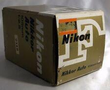 NIKON F Nikkor Auto 105mm f/2.5 Non Ai Lens Empty Box (only!) 5403014