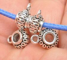 20pcs Tibetan Silver Charms Bail Connector Beads Connector Beads fittings E3546