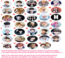Chapa Button Badge k-pop BTS  Bangtan Sonyeondan Jin Suga J-Hope RM Jimin V