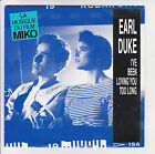 Glaces MIKO Disque 45T Film Pub EARL DUKEl I'VE BEEN -I'VE BEEN LOVING YOU TOO L
