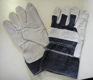 Leather Work Gloves / General Purpose (1 Pair)