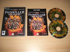 PAINKILLER - BATTLE OUT OF HELL Add-On Expansion Pack Pc Cd Rom  FAST DISPATCH