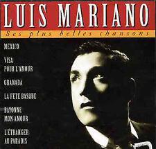 Mariano, Luis Ses Plus Belles Chansons CD