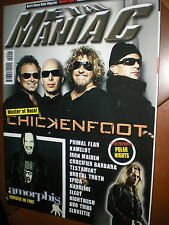 Metal Maniac.Chickenfoot,Primal Fear, Kamelot, Iron Maiden, Crucified Barbara,i