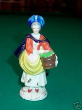 Made in Occupied Japan Figurine Lady Holding Basket