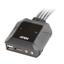 ATEN CS22DP 2-Port USB DisplayPort KVM Switch