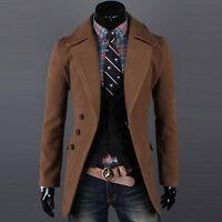 Mens Coat,Long Jacket,Trench Coat,Pea Coat,Suit Dress,Formal Casual,Slim Fit Top