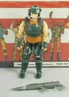 Original 1987 GI JOE DODGER V1 cobra ARAH COMPLETE figure UNBROKEN