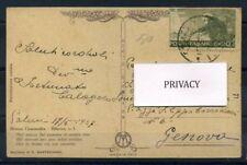 Italia Regno 1927 Sass. 192 Cartolina 100% S. Francesco