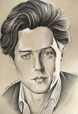 Hugh Grant Original Pencil Drawing . Fan-ART A4