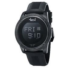 PLUS TECH Armbanduhr Uhr mit Touch Screen und vielen Funktionen schwarz