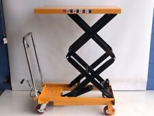 Hydraulic lifting table, lifting bench, mobile lift table, 300 kg (LT300DS)