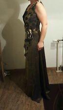 Abend Ballkleid Partykleid Lang Hochzeitskleid 2-teilig Gr. 36-38