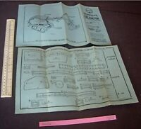 1940s Juneero UK Constructional Plans Excavator with Caterpillar Track in Steel
