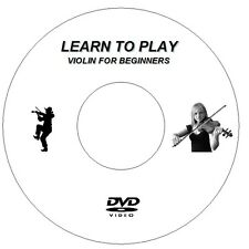 LEARN HOW TO PLAY THE VIOLIN CD DVD - LESSONS VIDEO GUIDE TUTORIAL FIDDLE