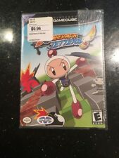 Bomberman Jetters Nintendo, GameCube Brand New Factory Sealed Rip Top